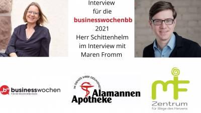 Interview von Maren Fromm mit Björn Schittenhelm